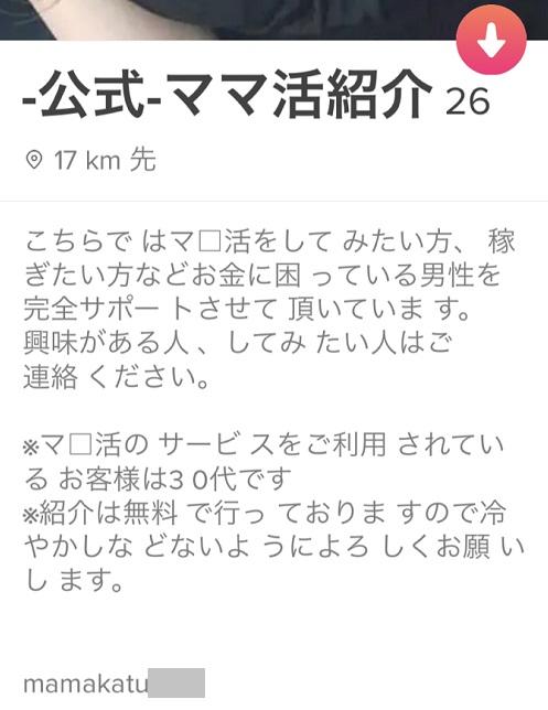 ティンダー-ママ活紹介